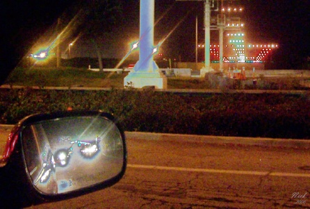 Nicolas giszpenc airport landing strip lights rearview mirror mozeypictures Image collections